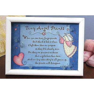 Tiny Angel Prints Framed Shadowbox Print