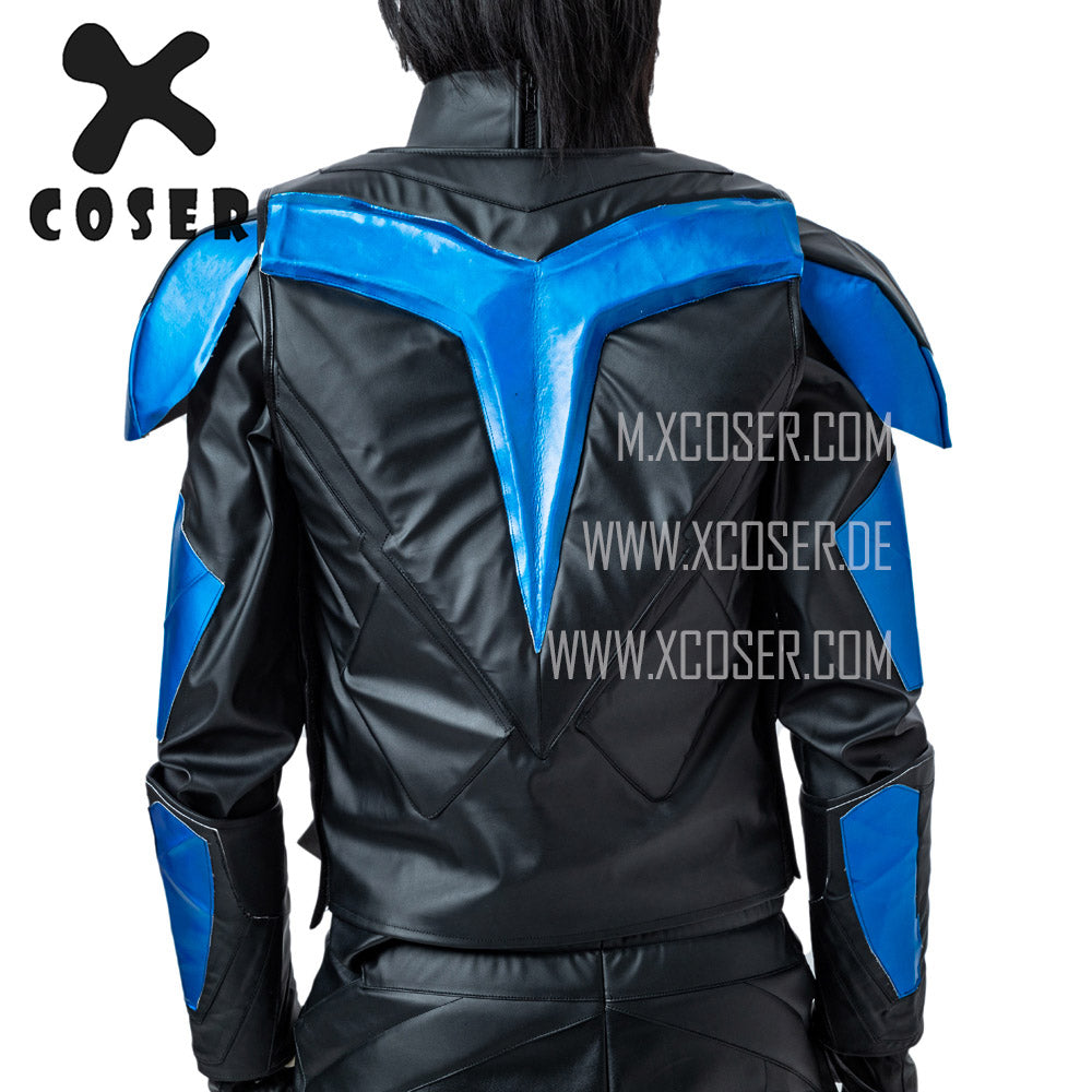 Xcoser Nightwing Cosplay Costumes Titans Season 2 Blue Suit - 12