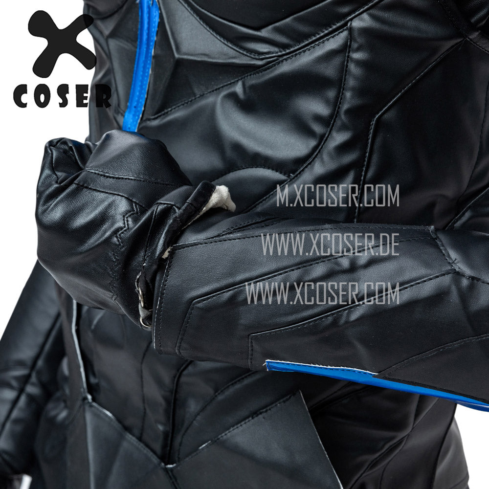 Xcoser Nightwing Cosplay Costumes Titans Season 2 Blue Suit - 14