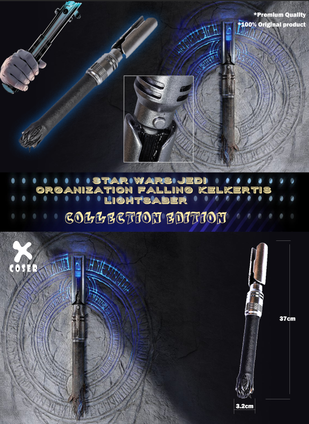 xcoser-de,Xcoser - Star Wars Jedi: Organization Falling Kelkertis Lightsaber Edition Version,