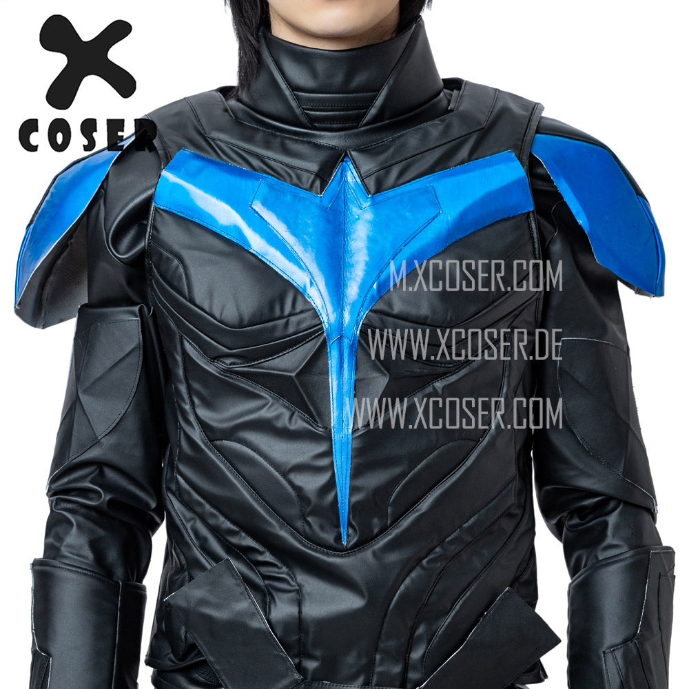 Xcoser Nightwing Cosplay Costumes Titans Season 2 Blue Suit - 11