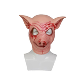 Hotline Miami Cosplay Maske Jacket Pig Head Halloween Props - xcoser-de