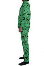 Laden Sie das Bild in den Galerie-Viewer, Riddler Kostüm Question Mark Pattern Suits DC Comics Riddler Cosplay Kleidung - Xcoser