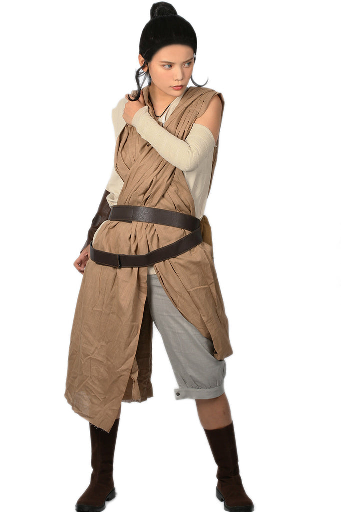 xcoser-de,Star Wars Rey Kostüm Star Wars: The Force Awakens Cosplay Kleidung,Star Wars Rey Kostüm