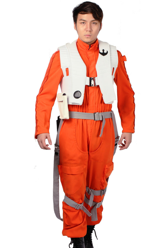 xcoser-de,Poe Dameron Kostüm Star Wars:The Force Awakens Cosplay Kleidung,Kostüm