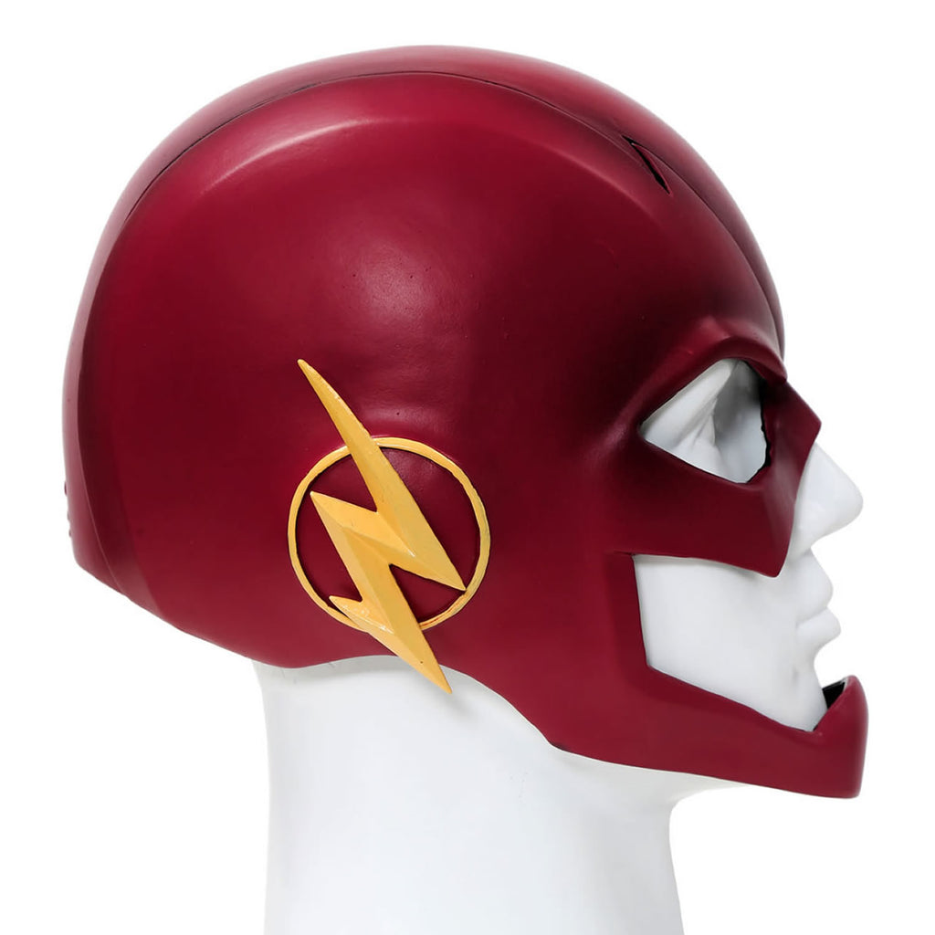 xcoser-de,The Flash maske Cosplay Kostüm Helm Harz Rot Voll Kopf Maske Gemalte Version,The flash maske