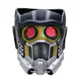 xcoser-de - Star Lord Maske mit Glow Guardians of the Galaxy Cosplay PVC Helm - Star Lord Maske - Xcostume