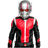 Marvel Superheros  Ant-man Kostüm Schwarz and Rouge PU Outfit & Maske Cosplay Kleidung