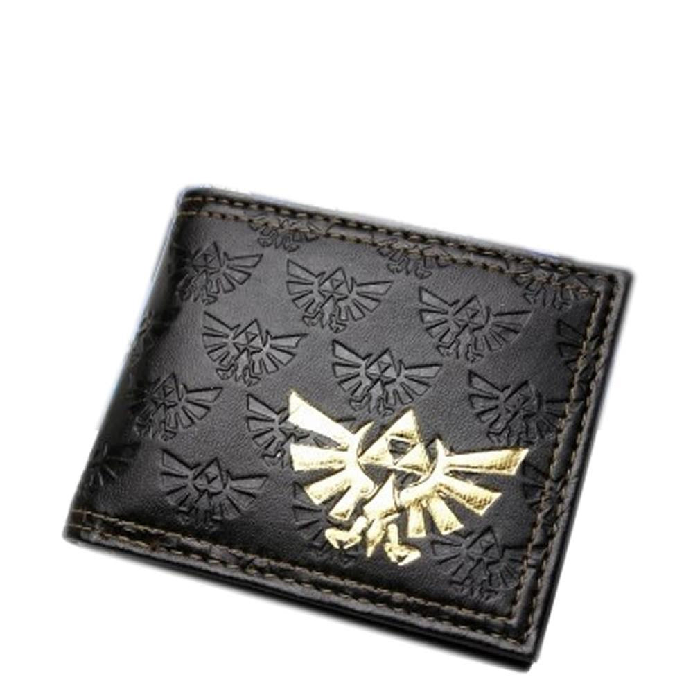 xcoser-de,Fashion Zelda Wallet The Legend of Zelda Logo Pu Wallet For Sale,Game Cosplay,Themes
