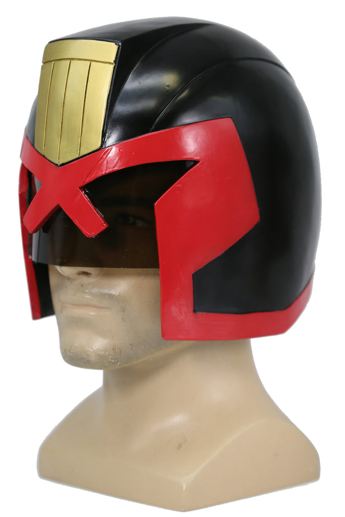 xcoser-de,Judge Dredd Helm Film Cosplay Zubehör,Judge Dredd Helm