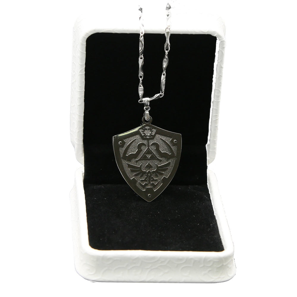 xcoser-de,Shield Necklace The Legend of Zelda Shield Logo Necklace Cosplay,Game Cosplay,Themes,summer-promotion