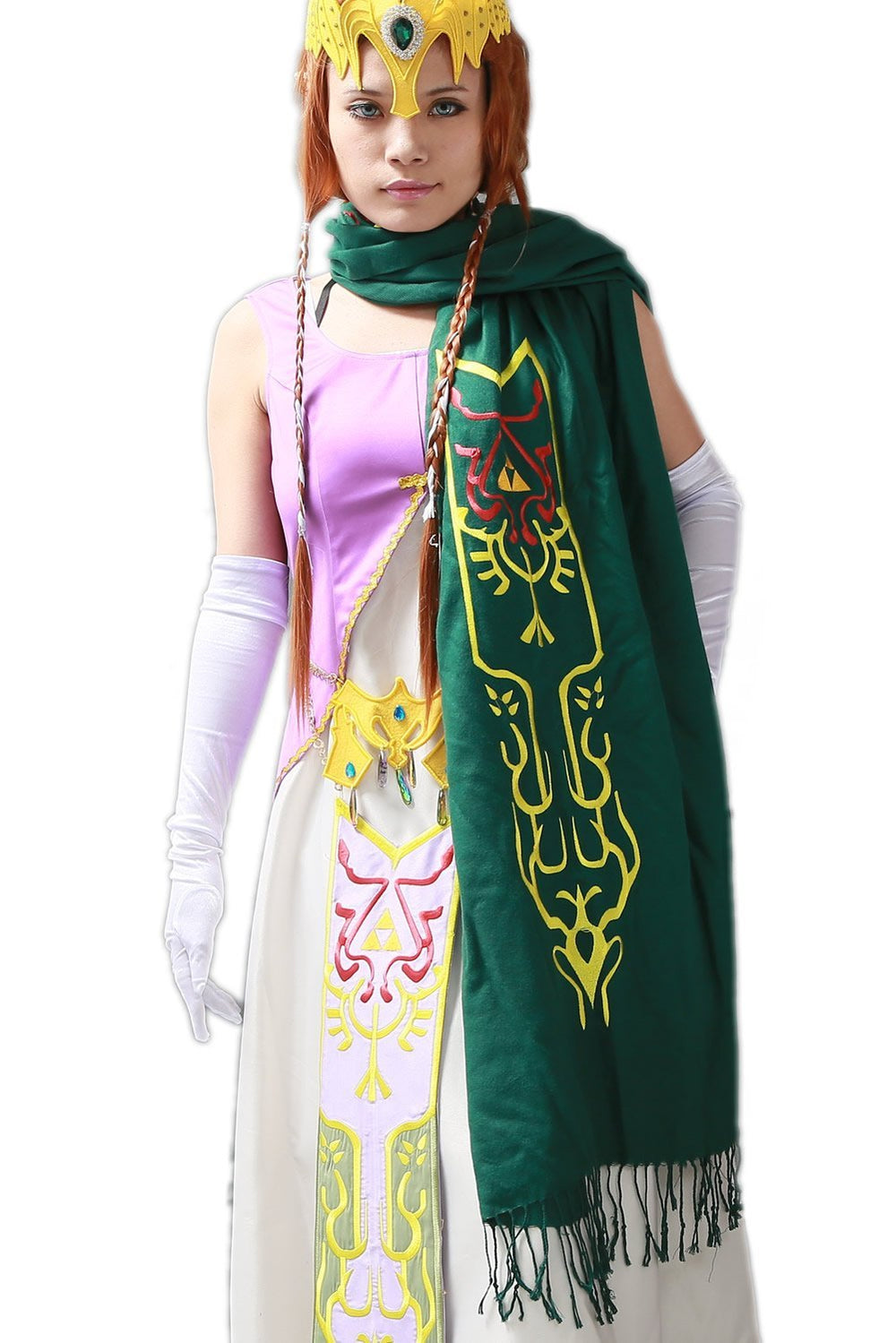 xcoser-de,Xcoser New Arrival Zelda Scarf The Legend of Zelda Cosplay Scarf,Game Cosplay,Themes