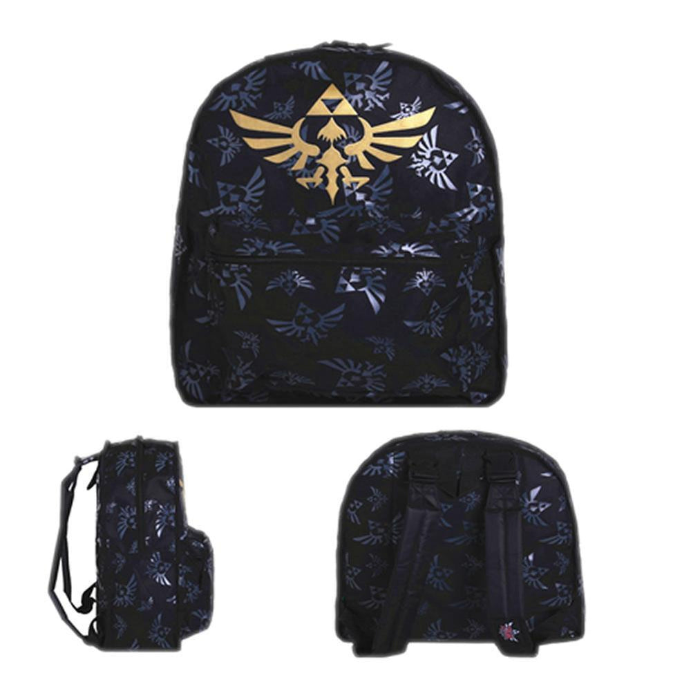 xcoser-de,Zelda Backpack The Legend of Zelda Backpack Zelda Logo School Backpack,Game Cosplay,Themes