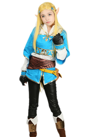 Prinzessin Zelda Kostüm The Legend of Zelda: Breath of the Wild Cosplay Kleidung