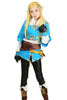 Prinzessin Zelda Kostüm The Legend of Zelda: Breath of the Wild Cosplay Kleidung - xcoser-de
