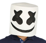 Marshmello Helm Vollkopf Latex Maske Marshmello Cosplay Kostüm Replik