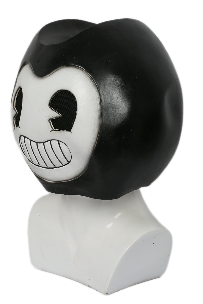 xcoser-de,Xcoser Bendy und die Tintenmaschine Lovely Full Head Cosplay Maske,Bendy and the Ink Machine Maske