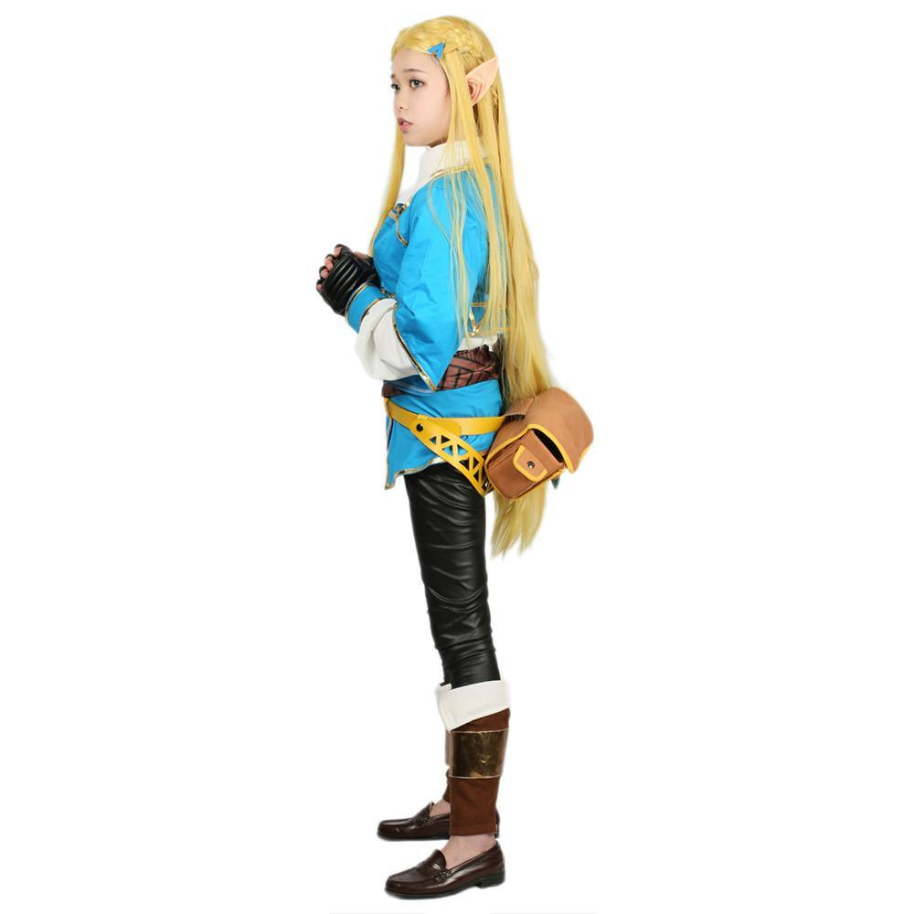 xcoser-de,Princess Zelda Costume The Legend of Zelda Cosplay Outfit,Princess Zelda Hoodies