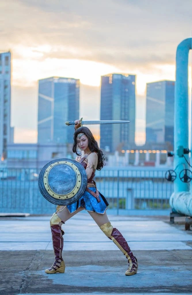 Xcoser Justice League Wonder Woman Cosplay Costume