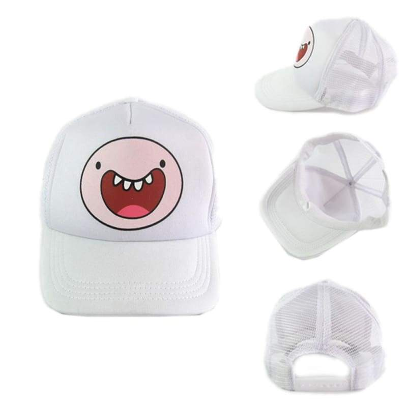 xcoser-de,Adventure Time Hut Cute Jake BMO Finn Tenniskappe,Hut