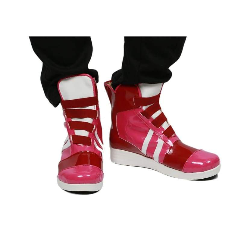 xcoser-de,Arms Game Spring Man Boots PU Leather Cosplay Shoes Sale,Boots