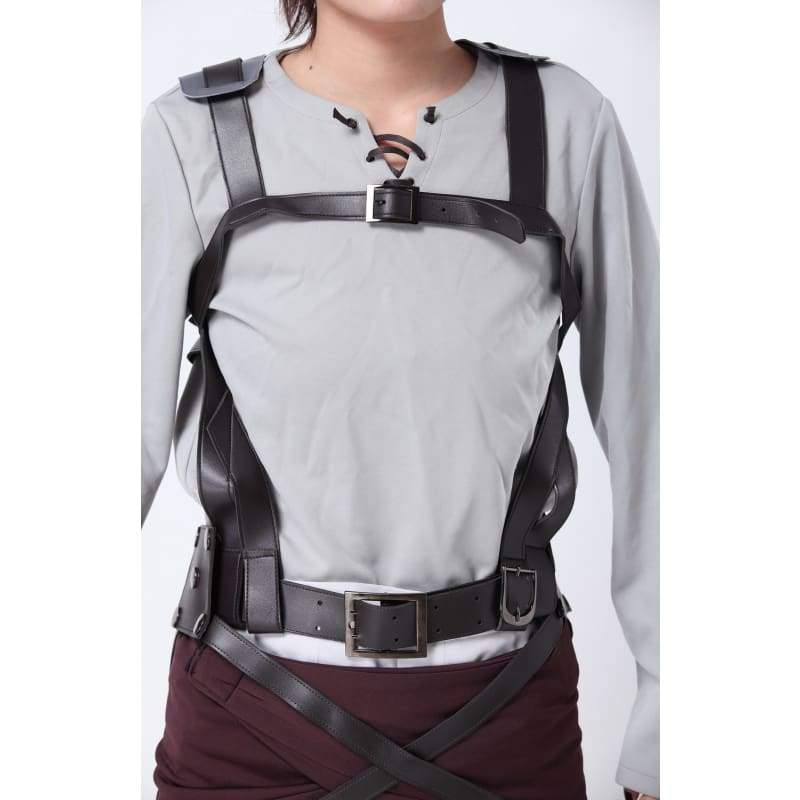 xcoser-de,Attack on Titan Shingeki No Kyojin Eren Jaeger Cosplay Costume,Costumes