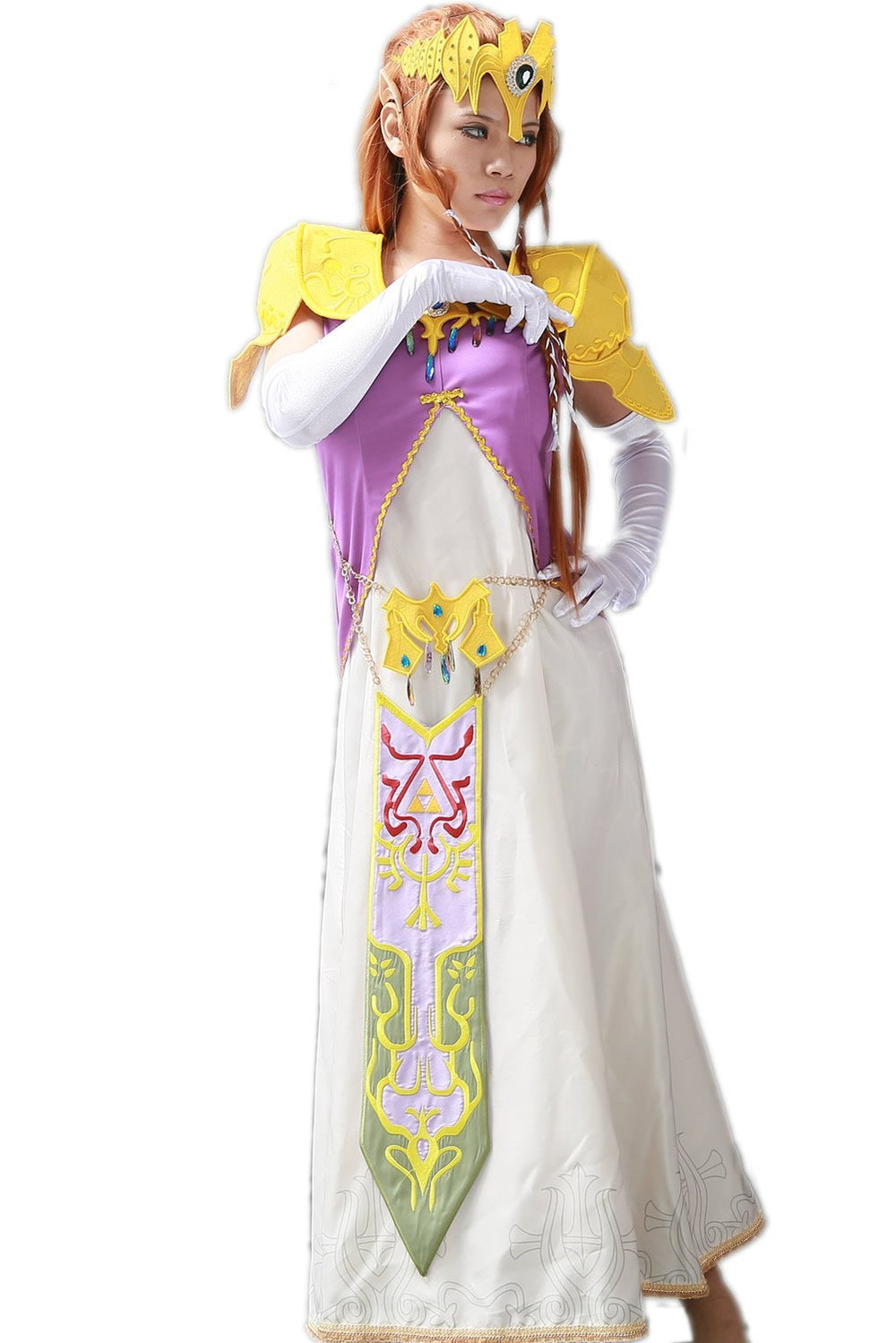 xcoser-de,Princess Zelda Cosplay The Legend of Zelda Costume Designed by Xcoser,Game Cosplay,Themes