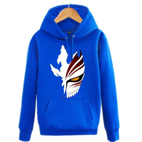 xcoser-de - Bleach Ichigo Hoodie Bleach Ichigo HipHop Style Pullover Hoodie - Hoodies - vendor-unknown