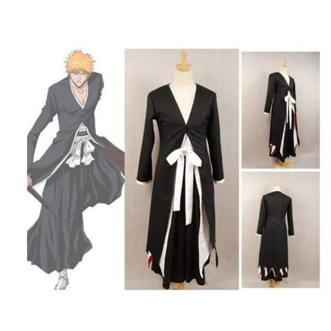 xcoser-de - Bleach Ichigo Kurosaki Bankai Cosplay Costume - Costumes - vendor-unknown
