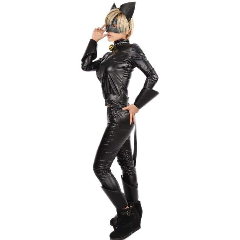 xcoser-de,Cat Noir Costume Miraculous Ladybug Cosplay,Costumes