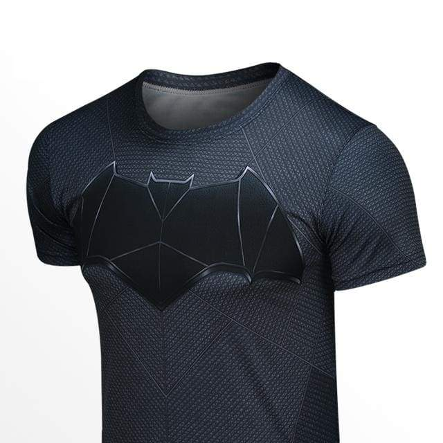 xcoser-de,Cosplay Costume Batman v Superman Loose T Shirt Men Round Neck Short-sleeved Summer T-shirt For DC Heroes,T-shirts