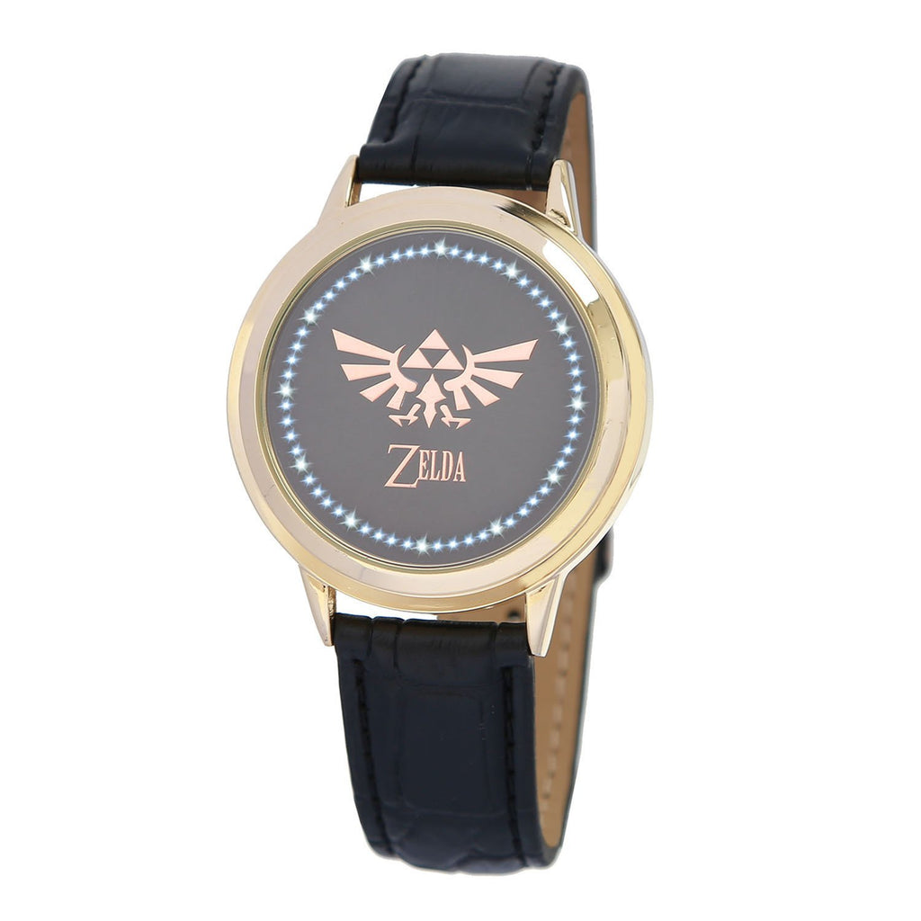 xcoser-de,Zelda Watch The Legend of Zelda Triforce Logo Touch Screen LED Digital Watch Gift,Game Cosplay,Accessories,Themes,Watch