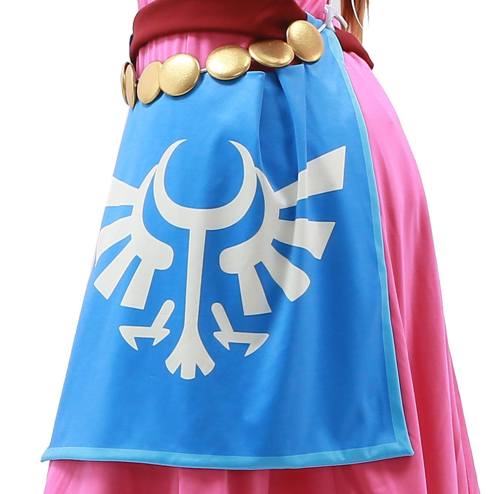 xcoser-de,Beautiful Princess Zelda Costume The Legend of Zelda Skyward Sword Cosplay Costume,Game Cosplay,Themes