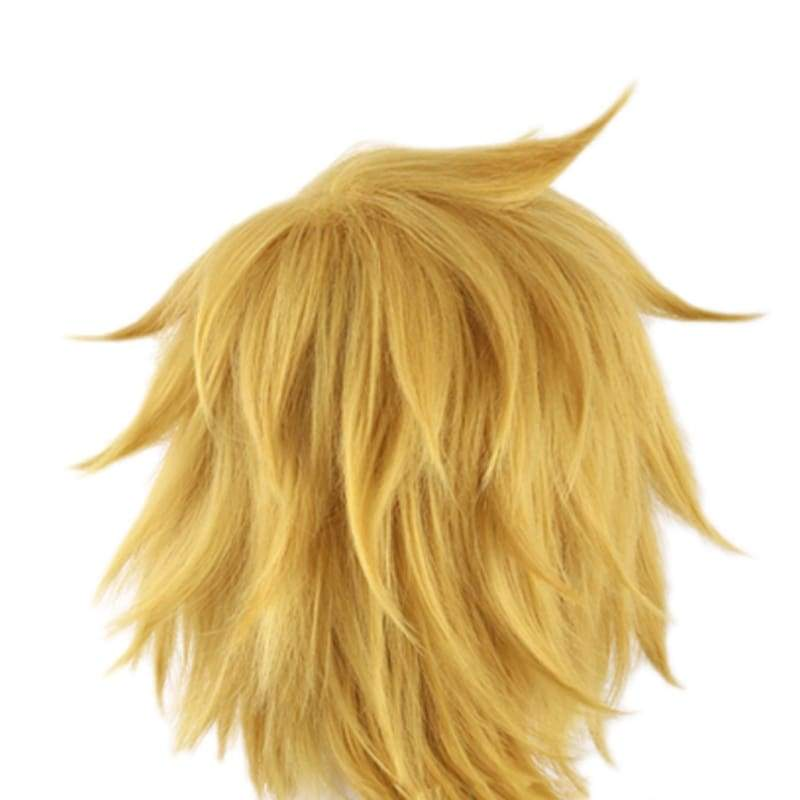 xcoser-de,Ezreal Perücke League of Legends Ezreal goldgelbe Cosplay Perücke,Perücke