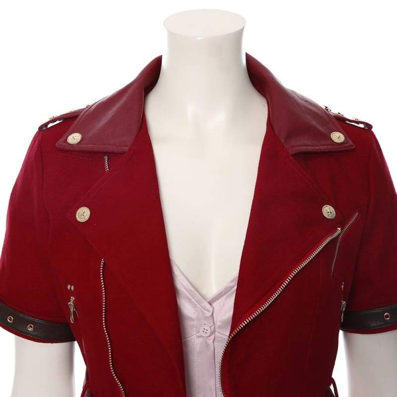 Final Fantasy Vii Remake Aerith Gainsborough Cosplay Costume - Costumes 7