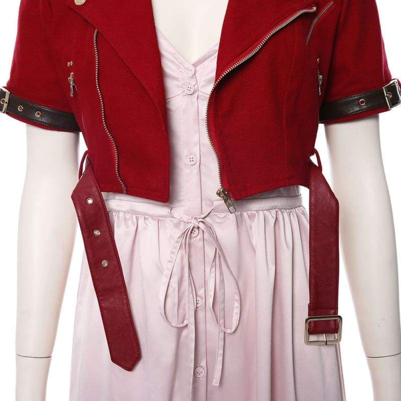 Final Fantasy Vii Remake Aerith Gainsborough Cosplay Costume - Costumes 8