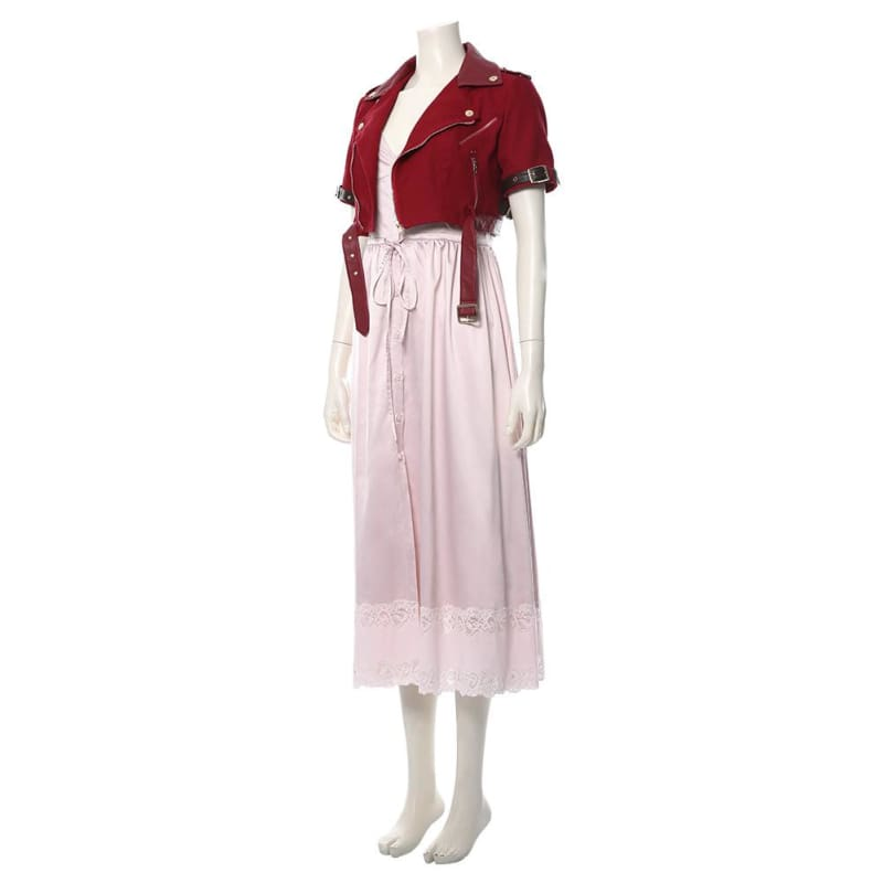 Final Fantasy Vii Remake Aerith Gainsborough Cosplay Costume - Costumes 3