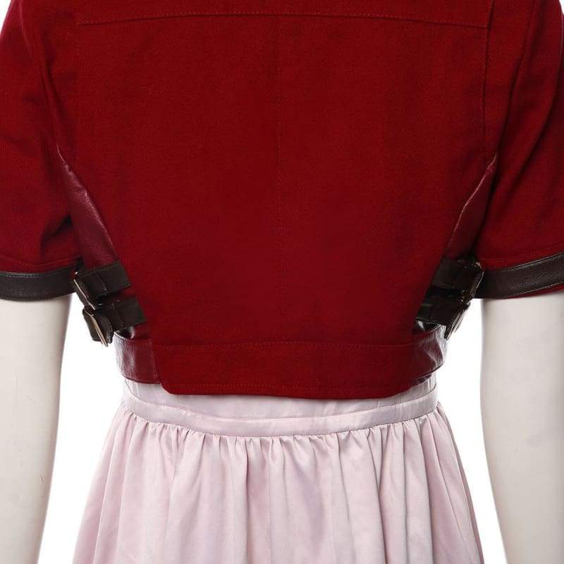 Final Fantasy Vii Remake Aerith Gainsborough Cosplay Costume - Costumes 10