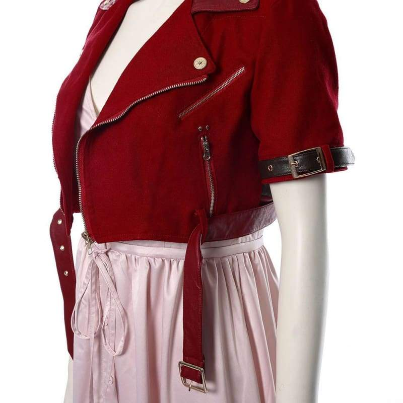 Final Fantasy Vii Remake Aerith Gainsborough Cosplay Costume - Costumes 9