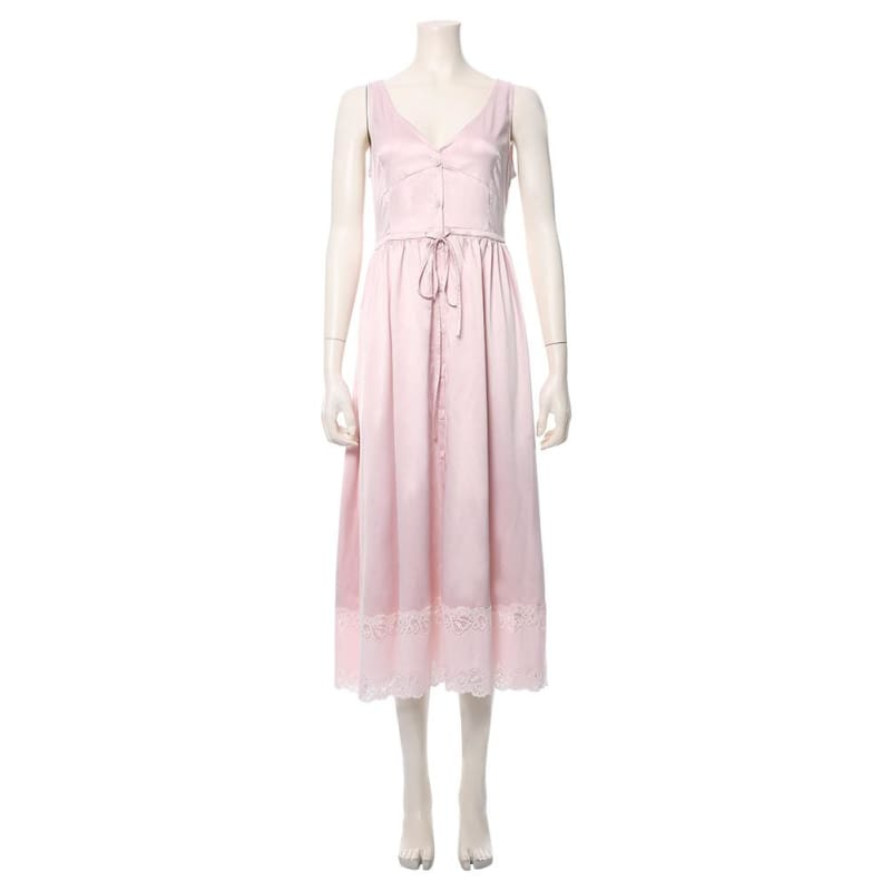 Final Fantasy Vii Remake Aerith Gainsborough Cosplay Costume - Costumes 6