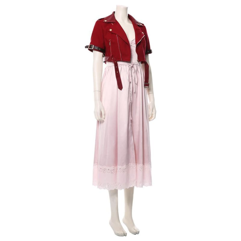 Final Fantasy Vii Remake Aerith Gainsborough Cosplay Costume - Costumes 5