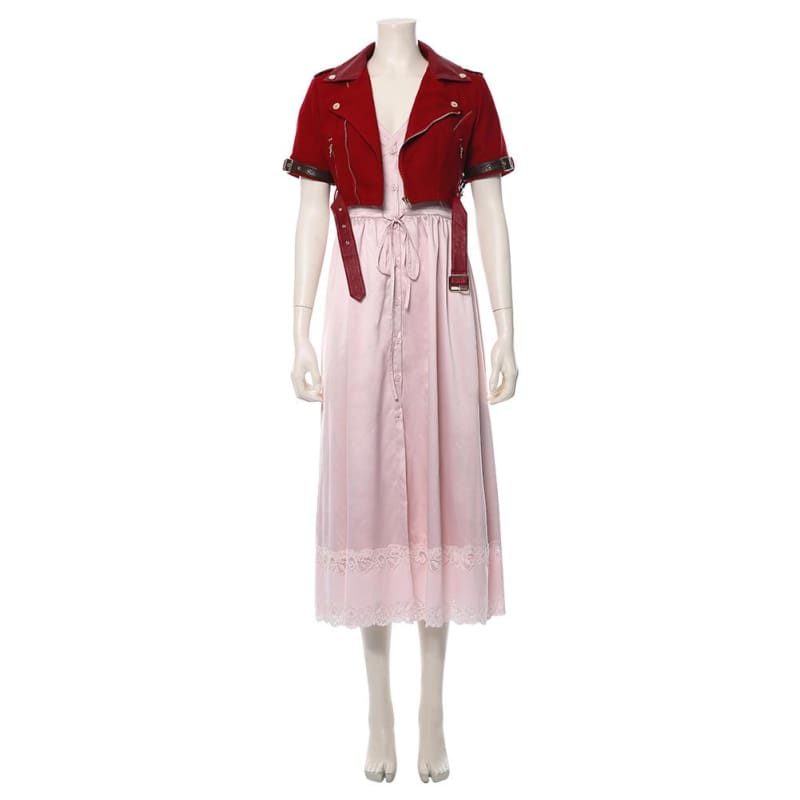 Final Fantasy Vii Remake Aerith Gainsborough Cosplay Costume - Female / Xs - Costumes 2