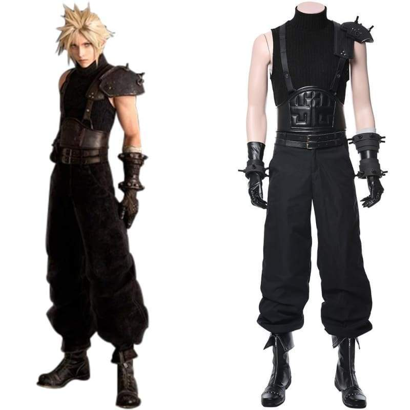 Final Fantasy Vii Remake Cloud Strife Cosplay Costume - Costumes 13