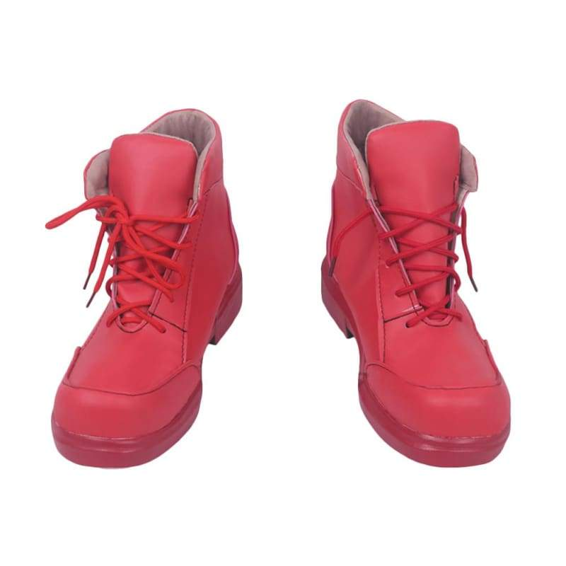 xcoser-de,Halloween Cosplay Cells at Work! Anime Cosplay Red Blood Cell Red Shoes Cosplay Props,Boots