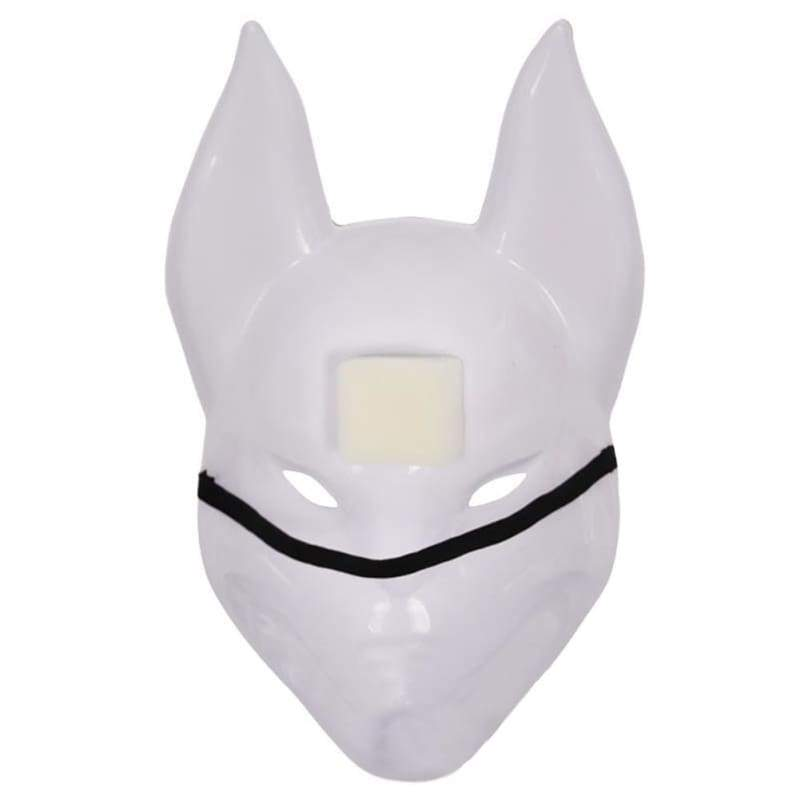 Halloween Cosplay Fortnite Fox PVC Maske