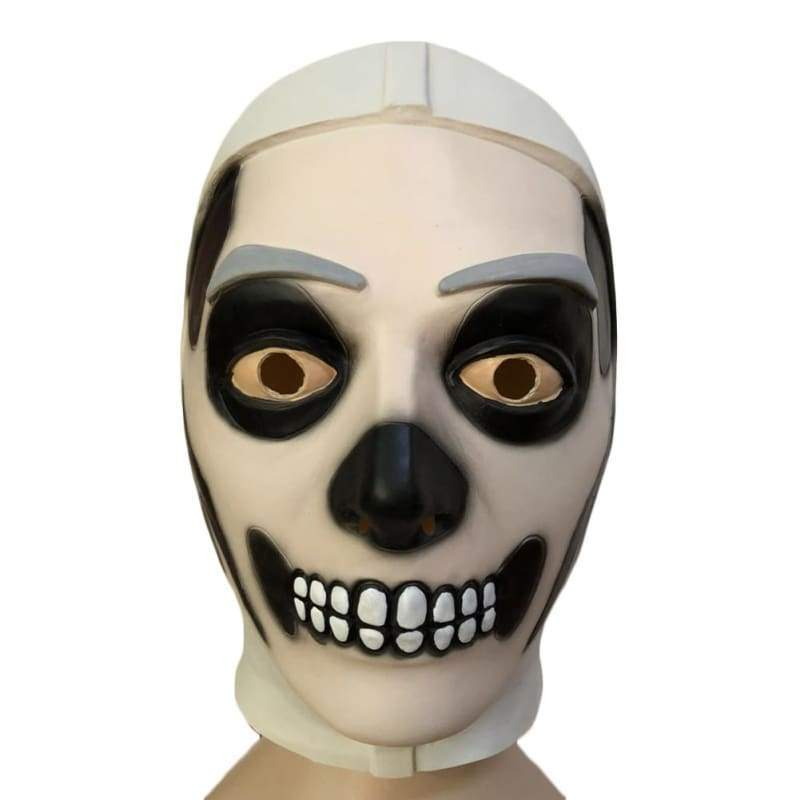 Halloween Cosplay Fortnite Schädel Latex Maske