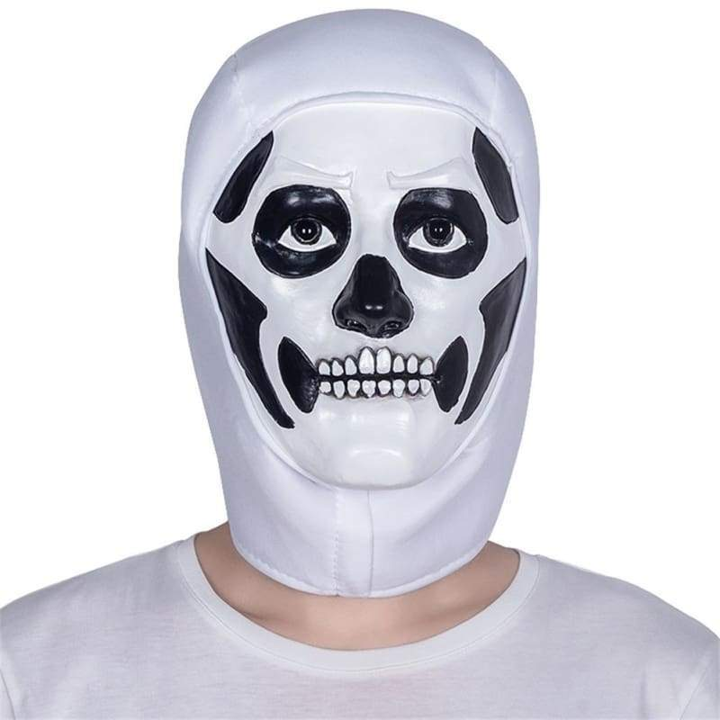 Halloween Cosplay Fortnite Skull Trooper Latexmaske
