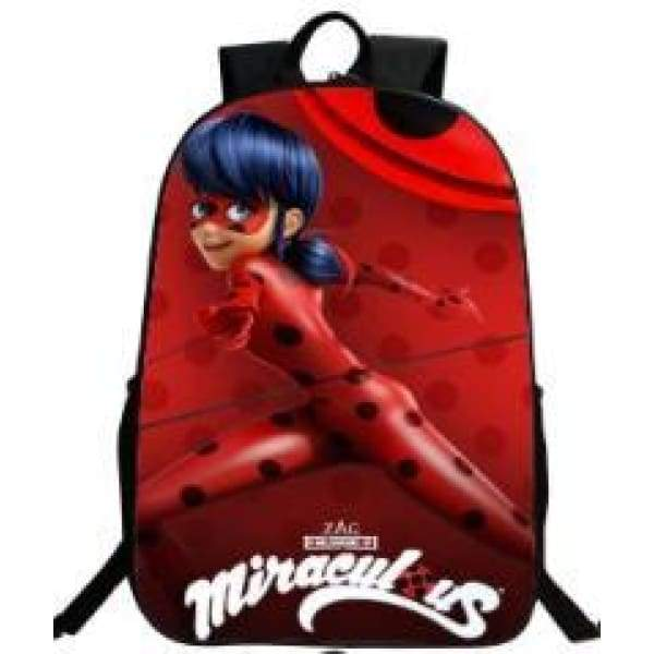 xcoser-de,Halloween Cosplay Miraculous Ladybug Related Backpack for Student & Children,Others