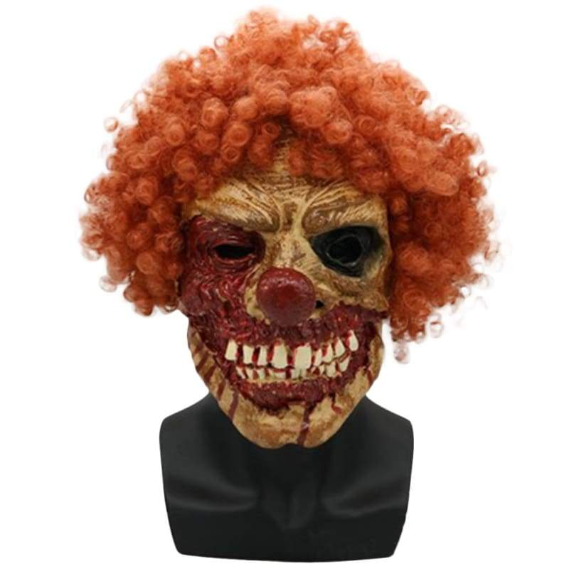 Halloween Cosplay Scary Clown verbannte Gesichtsmaske