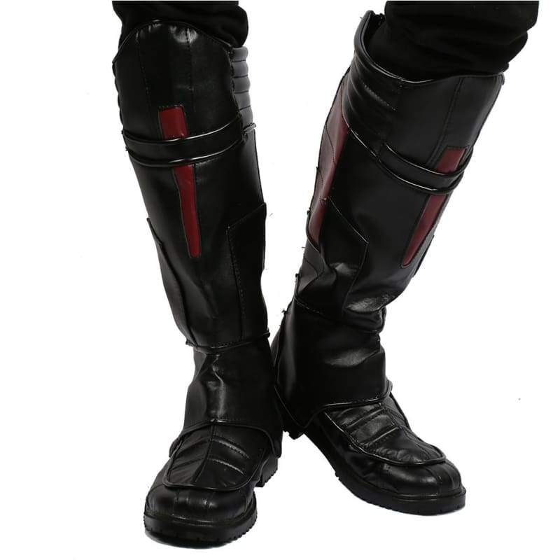 xcoser-de,Halloween Cosplay XCOSER Ant-Man 2 Movie Cosplay Ant-Man Boots PU Knee-High Boost Cosplay Props,Boots